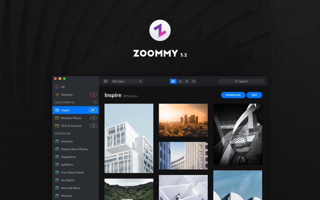 Zoommy - more than 130 000 free photos in one place